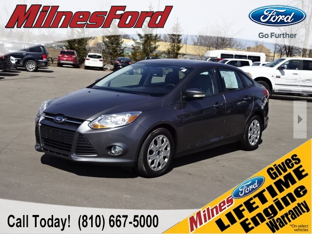 pre-owned 2012 ford focus se se 4dr sedan #p4080 | milnes auto group
