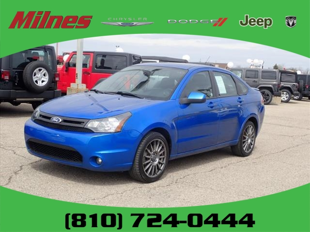 pre-owned 2011 ford focus sport ses 4dr sedan #a1734a | milnes auto