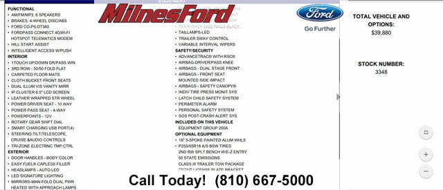 Pre-Owned 2020 Ford Explorer XLT