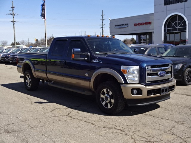 pre-owned 2013 ford f-350 super duty crew cab 4x4 #a1758 | milnes