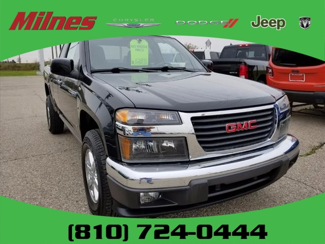 Pre owned 2009 gmc canyon extended cab pickup t9059a milnes auto pre owned 2009 gmc canyon publicscrutiny Image collections