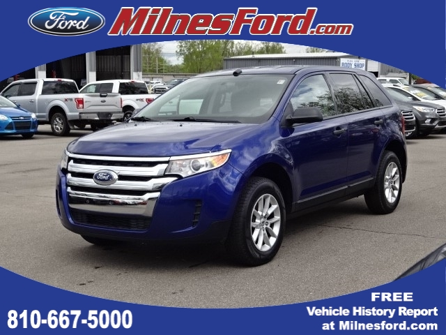 2014 Ford Edge Se >> Pre Owned 2014 Ford Edge Se Suv P4495 Milnes Auto Group