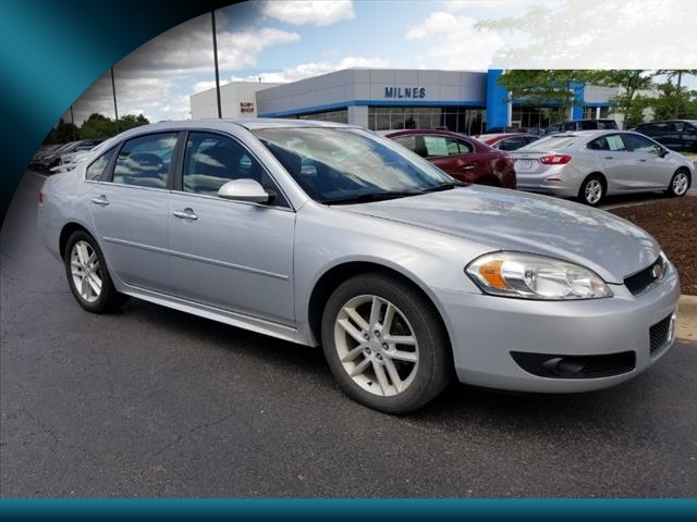 Perfect Pre Owned 2012 Chevrolet Impala LTZ