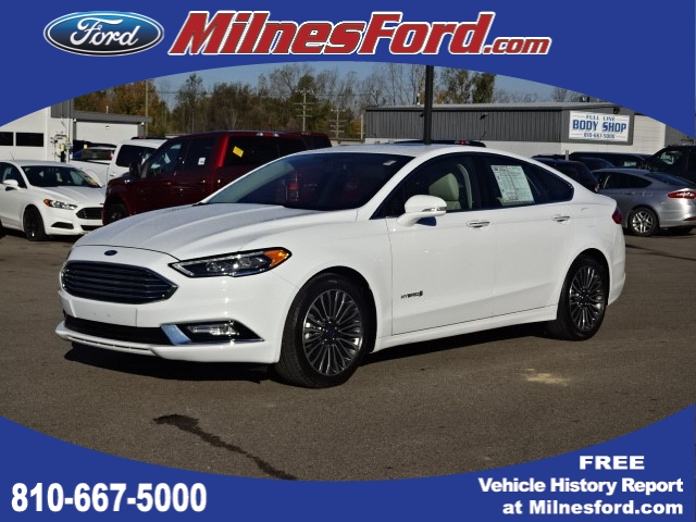Pre Owned 2017 Ford Fusion Hybrid