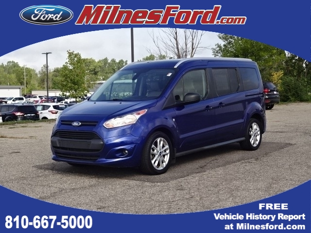 Pre-Owned 2016 Ford Transit Connect Wagon XLT FWD Mini-Van