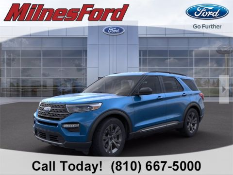 New 2021 Ford Explorer XLT
